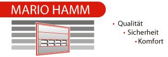 Hamm-Garagentore Mario Hamm - Logo